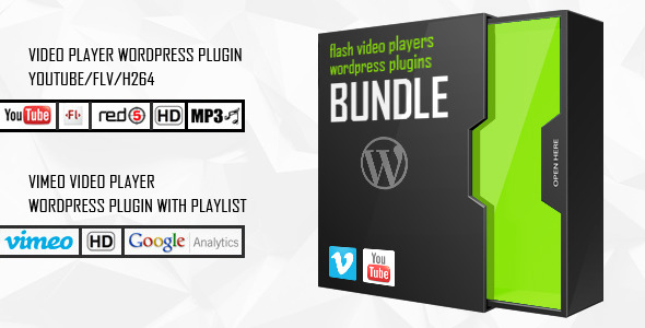 WP Bundle Flash Video Players - YouTube/Vimeo/MP4