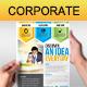 Multipurpose Corporate Flyer 45 - GraphicRiver Item for Sale