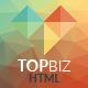 TopBiz - Responsive Corporate HTML5 Template - ThemeForest Item for Sale