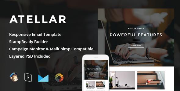 Atellar - Responsive Email + StampReady Builder