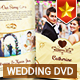 Elegant Wedding DVD Covers and Disc Label - GraphicRiver Item for Sale