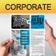 Multipurpose Corporate Flyer 50 - GraphicRiver Item for Sale