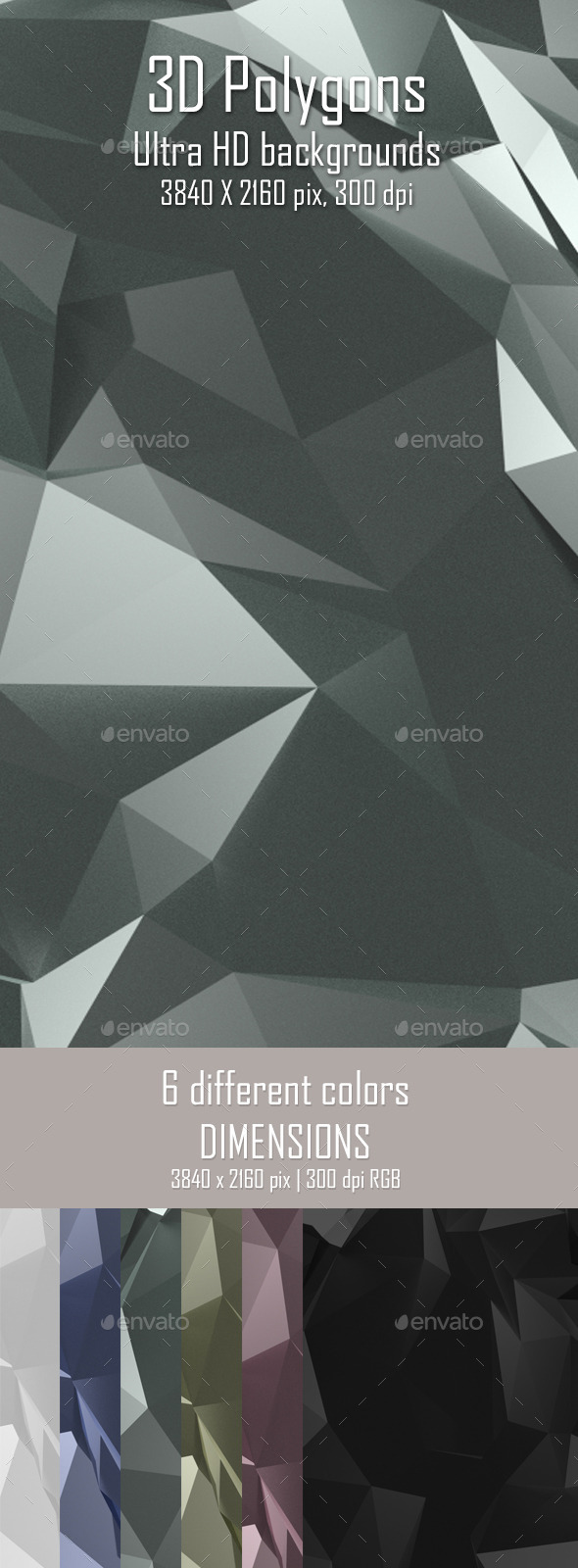 3D Polygon Background