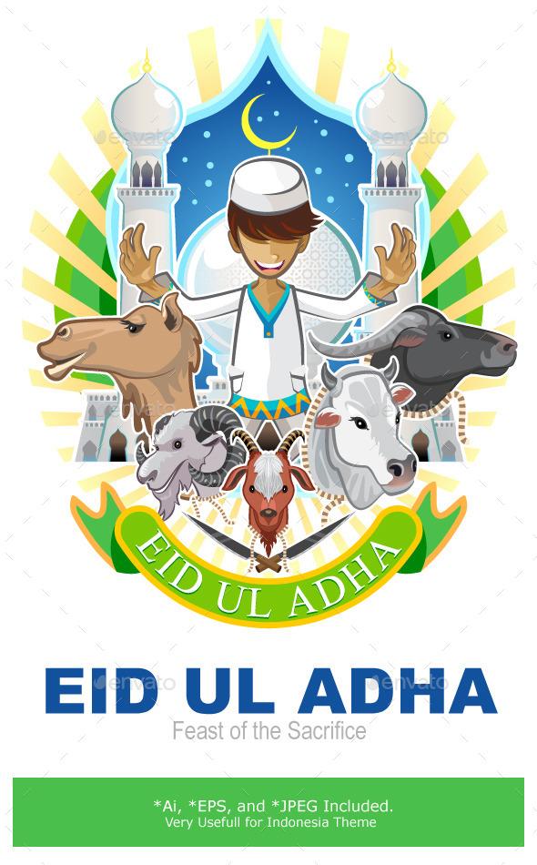 Eid Al Adha Festival of Sacrifice Islam Religious