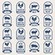 Big Set of Meat Labels - GraphicRiver Item for Sale