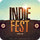Indie Fest | Poster - GraphicRiver Item for Sale