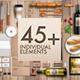 Branding Elements Mock-Up Vol 01 - GraphicRiver Item for Sale