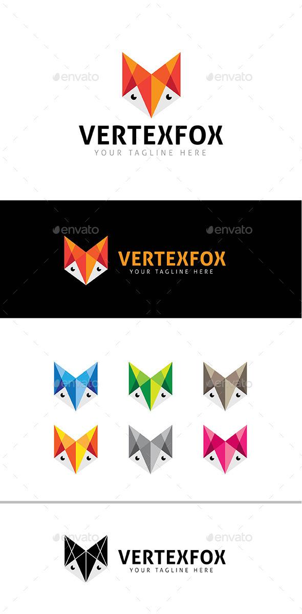 Vertex Fox Logo Template