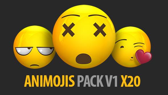 Animated Emojis Pack