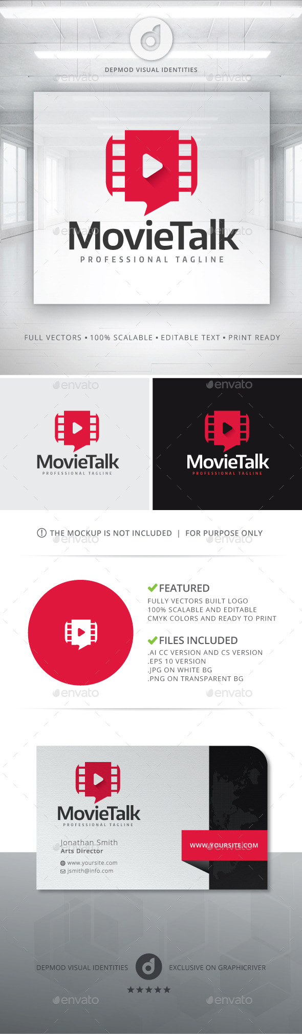 Movie Talk Logo