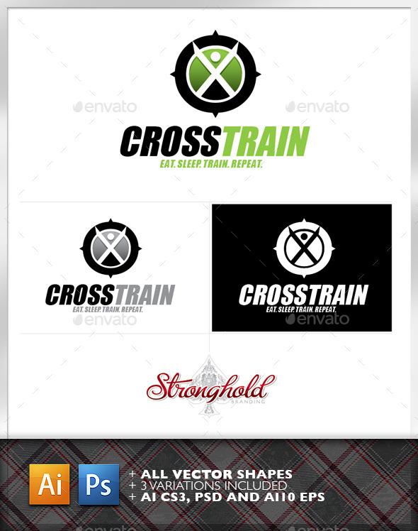 Cross Training Logo Template