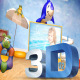 3D Toys For Kids Gallery - VideoHive Item for Sale