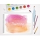 Art Process With Watercolor - GraphicRiver Item for Sale