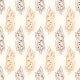 Vector Vintage Corn On Cob Drawing Seamless - GraphicRiver Item for Sale