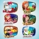 Set of Cartoon Characters - GraphicRiver Item for Sale