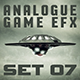 Analogue Futuristic Game Sound Effects Pack Set 07