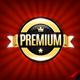6 Gold Premium Quality Badges - GraphicRiver Item for Sale