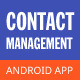 Contact Management Android App - CodeCanyon Item for Sale