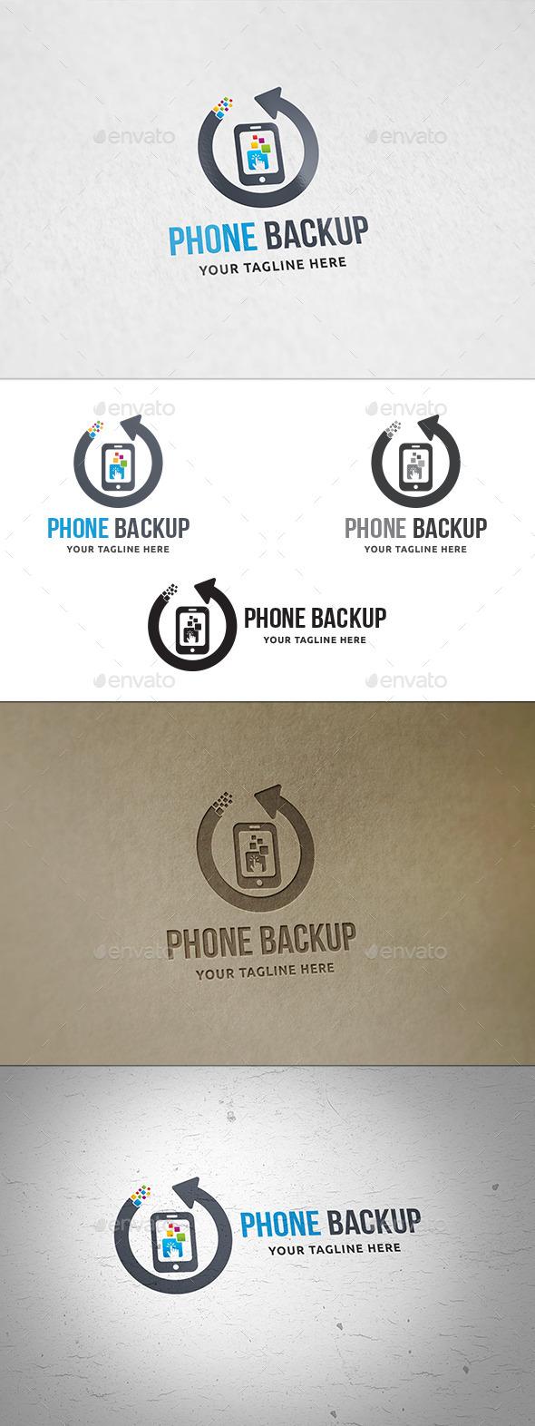 Phone Backup Logo