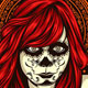 Red Girl Chicano - GraphicRiver Item for Sale