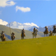 Ancient Warriors Coming From Skyline - VideoHive Item for Sale