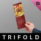 Restaurant Menu Trifold Template - GraphicRiver Item for Sale