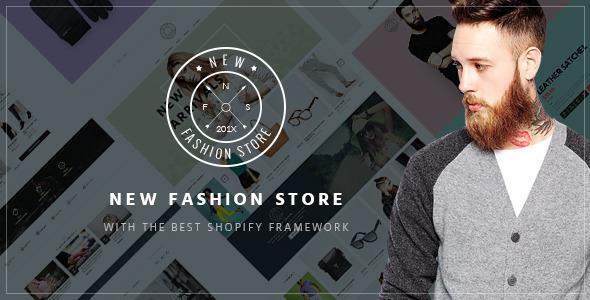 Ap NewFashion - Shopify Theme
