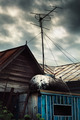 Roof with TV Antenna - PhotoDune Item for Sale