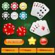 Casino Design Elements Set - GraphicRiver Item for Sale