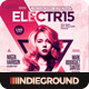 Electro Flyer/Poster Vol. 9 - GraphicRiver Item for Sale