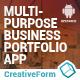 Multipurpose Business Portfolio App - CodeCanyon Item for Sale