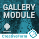 Gallery module with AdMob/Analytics