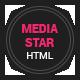 Mediastar- Responsive Html5 Portfolio Template - ThemeForest Item for Sale