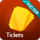 Glossy Tickets - GraphicRiver Item for Sale