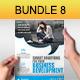 Creative Multipurpose Flyers Bundle 8 - GraphicRiver Item for Sale
