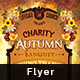 Charity Autumn Banquet Flyer - GraphicRiver Item for Sale