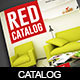Red Product Catalog - GraphicRiver Item for Sale