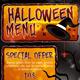 Halloween Menu - GraphicRiver Item for Sale