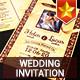 Elegant Vintage Wedding Invitation - GraphicRiver Item for Sale