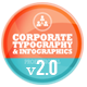 Corporate Typography & Infographics Pack - VideoHive Item for Sale