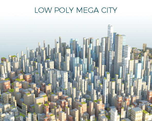 City Scape CG Textures & 3D Models from 3DOcean