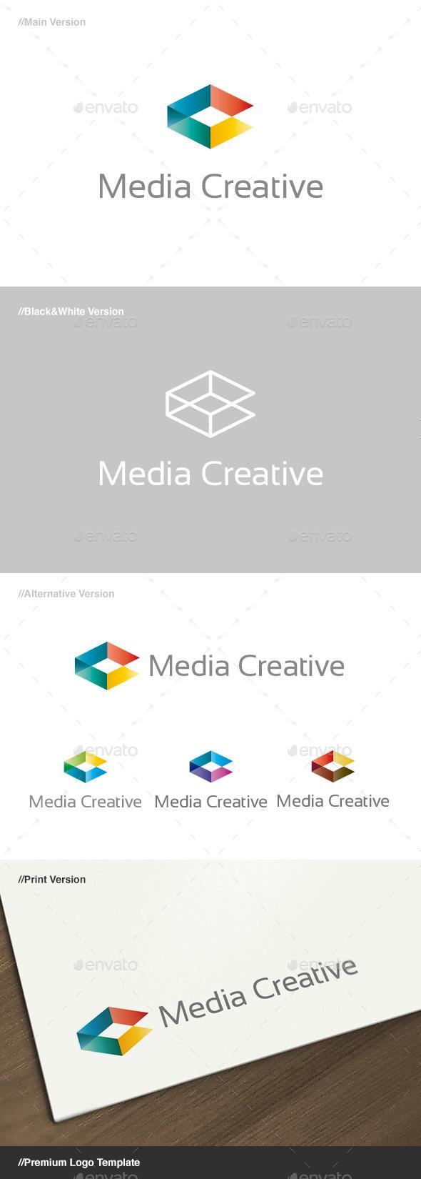 Media Creative Logo