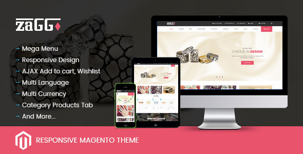 SNS Zaggo - Responsive Magento Theme