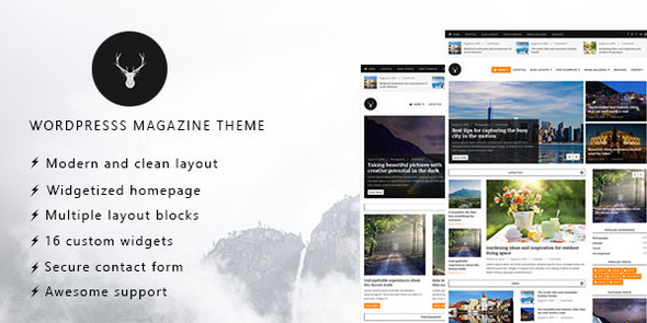 Vaga - WordPress Magazine and Blog Theme