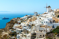 Buildings on the hill in Oia town, Santorini - PhotoDune Item for Sale