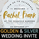 Golden and Silver Wedding Invitations - GraphicRiver Item for Sale