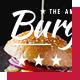 American Burger Menu - GraphicRiver Item for Sale