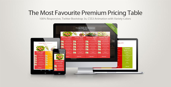 Safa -  The Most Favourite Premium Pricing Table