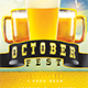 October Fest Flyer Template - GraphicRiver Item for Sale