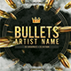 Bullets Mixtape CD Cover Template - GraphicRiver Item for Sale